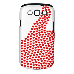 Heart Love Valentines Day Red Sign Samsung Galaxy S III Classic Hardshell Case (PC+Silicone)