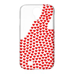 Heart Love Valentines Day Red Sign Samsung Galaxy S4 Classic Hardshell Case (PC+Silicone)