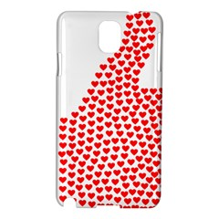 Heart Love Valentines Day Red Sign Samsung Galaxy Note 3 N9005 Hardshell Case