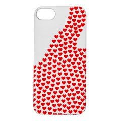 Heart Love Valentines Day Red Sign Apple iPhone 5S/ SE Hardshell Case