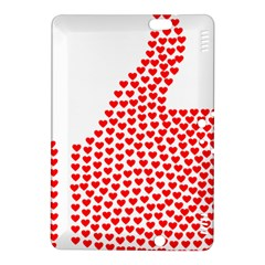 Heart Love Valentines Day Red Sign Kindle Fire HDX 8.9  Hardshell Case