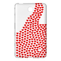 Heart Love Valentines Day Red Sign Samsung Galaxy Tab 4 (7 ) Hardshell Case