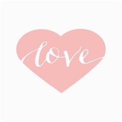 Love Valentines Heart Pink Canvas 16  x 20