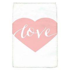 Love Valentines Heart Pink Flap Covers (L)