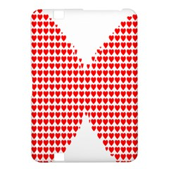 Hearts Butterfly Red Valentine Love Kindle Fire HD 8.9