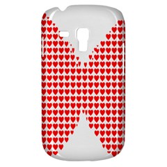 Hearts Butterfly Red Valentine Love Galaxy S3 Mini