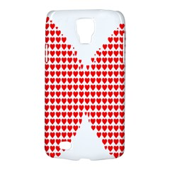Hearts Butterfly Red Valentine Love Galaxy S4 Active