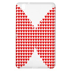 Hearts Butterfly Red Valentine Love Samsung Galaxy Tab Pro 8 4 Hardshell Case