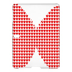 Hearts Butterfly Red Valentine Love Samsung Galaxy Tab S (10.5 ) Hardshell Case