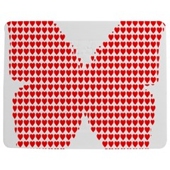 Hearts Butterfly Red Valentine Love Jigsaw Puzzle Photo Stand (Rectangular)