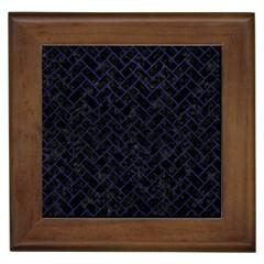 BRK2 BK-MRBL BL-LTHR Framed Tiles
