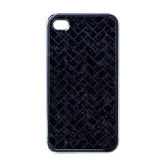 BRK2 BK-MRBL BL-LTHR Apple iPhone 4 Case (Black)