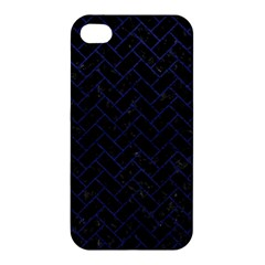 BRK2 BK-MRBL BL-LTHR Apple iPhone 4/4S Hardshell Case