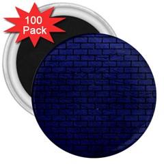BRK1 BK-MRBL BL-LTHR (R) 3  Magnets (100 pack)