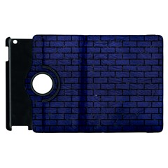 BRK1 BK-MRBL BL-LTHR (R) Apple iPad 2 Flip 360 Case