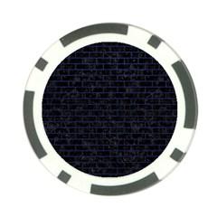 BRK1 BK-MRBL BL-LTHR Poker Chip Card Guard