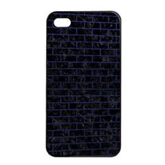 BRK1 BK-MRBL BL-LTHR Apple iPhone 4/4s Seamless Case (Black)