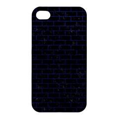 BRK1 BK-MRBL BL-LTHR Apple iPhone 4/4S Premium Hardshell Case