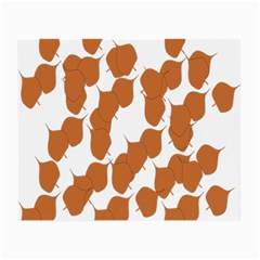 Machovka Autumn Leaves Brown Small Glasses Cloth (2-Side)