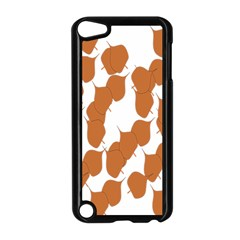 Machovka Autumn Leaves Brown Apple iPod Touch 5 Case (Black)