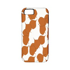 Machovka Autumn Leaves Brown Apple iPhone 5 Classic Hardshell Case (PC+Silicone)