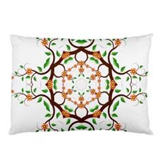 Floral Tree Leaf Flower Star Pillow Case