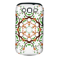 Floral Tree Leaf Flower Star Samsung Galaxy S III Classic Hardshell Case (PC+Silicone)