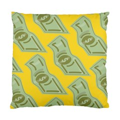 Money Dollar $ Sign Green Yellow Standard Cushion Case (One Side)
