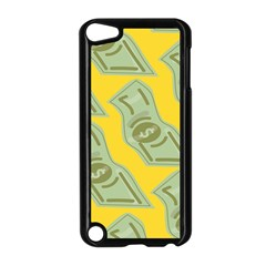 Money Dollar $ Sign Green Yellow Apple iPod Touch 5 Case (Black)