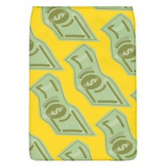 Money Dollar $ Sign Green Yellow Flap Covers (L)