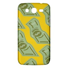 Money Dollar $ Sign Green Yellow Samsung Galaxy Mega 5.8 I9152 Hardshell Case