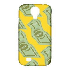 Money Dollar $ Sign Green Yellow Samsung Galaxy S4 Classic Hardshell Case (PC+Silicone)