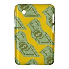 Money Dollar $ Sign Green Yellow Samsung Galaxy Tab 2 (7 ) P3100 Hardshell Case