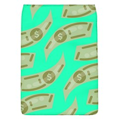 Money Dollar $ Sign Green Flap Covers (l)