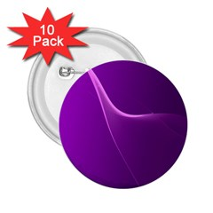 Purple Line 2.25  Buttons (10 pack)