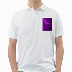 Purple Line Golf Shirts