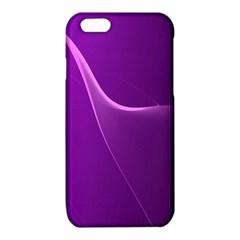 Purple Line iPhone 6/6S TPU Case