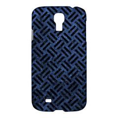 WOV2 BK-MRBL BL-STONE (R) Samsung Galaxy S4 I9500/I9505 Hardshell Case