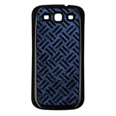 WOV2 BK-MRBL BL-STONE (R) Samsung Galaxy S3 Back Case (Black)