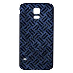 WOV2 BK-MRBL BL-STONE (R) Samsung Galaxy S5 Back Case (White)