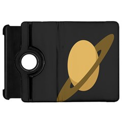 Saturn Ring Planet Space Orange Kindle Fire HD 7