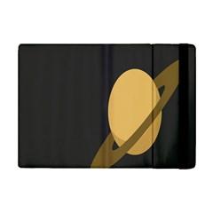 Saturn Ring Planet Space Orange iPad Mini 2 Flip Cases
