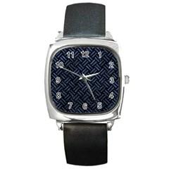 WOV2 BK-MRBL BL-STONE Square Metal Watch