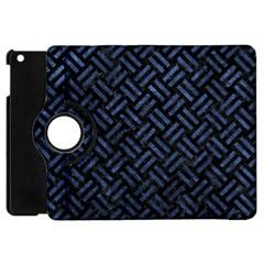 WOV2 BK-MRBL BL-STONE Apple iPad Mini Flip 360 Case