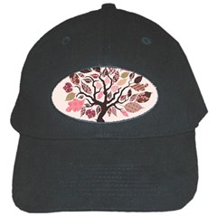 Tree Butterfly Insect Leaf Pink Black Cap