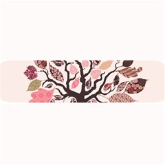 Tree Butterfly Insect Leaf Pink Large Bar Mats