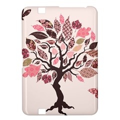 Tree Butterfly Insect Leaf Pink Kindle Fire HD 8.9
