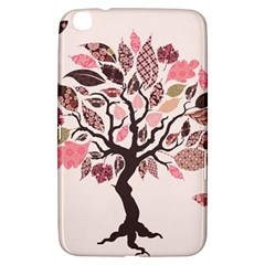 Tree Butterfly Insect Leaf Pink Samsung Galaxy Tab 3 (8 ) T3100 Hardshell Case