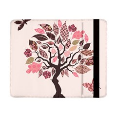 Tree Butterfly Insect Leaf Pink Samsung Galaxy Tab Pro 8.4  Flip Case