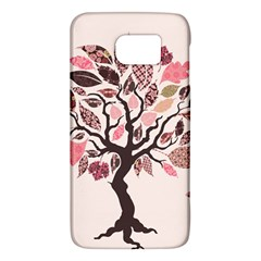Tree Butterfly Insect Leaf Pink Galaxy S6